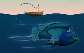 Picture vector, Fish