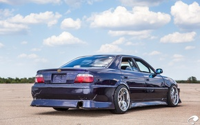 Picture blue, Toyota, blue, tuning, Toyota, Chaser, chayzer