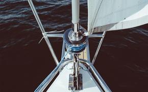 Picture sea, yacht, sail, mast, Kiel, feed