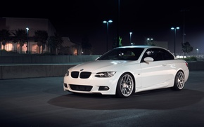 Picture white, BMW, BMW, white, 335i, E93, The 3 series