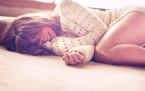 Picture smile, photo, Wallpaper, actress, sweater, Jennifer Lawrence, Jennifer Lawrence