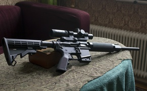 Picture weapons, rifle, CZ V-22