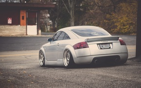 Picture Audi, Audi, tuning, silver, silver, tuning