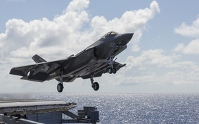 Picture fighter, bomber, the rise, Lightning II, F-35C