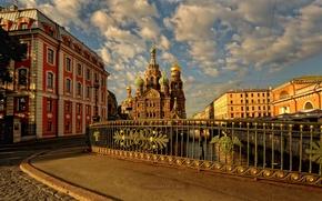 Picture promenade, Saint Petersburg, the Savior on blood, serg-Sergeyev