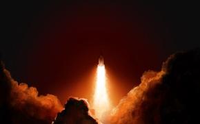 Picture Ship, Rocket, Start, Vladstudio