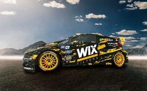 Picture Ford, Fiesta, RallyCross, GRC, Nelson Piquet jr