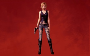 Picture fantasy, game, painting, Aya Brea, Parasite Eve:3rd birthday