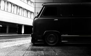 Picture black, tuning, Loaf, Baton, UAZ-450