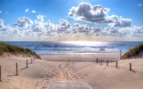Picture sea, beach, summer