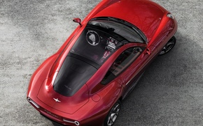 Picture Alfa Romeo, view, the view from the top, Touring, Flying Disc