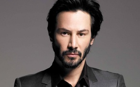 Picture actor, man, face, Keanu Reeves