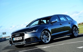 Picture Audi, Audi, UK-spec, Before, 2014, RS 6, avant