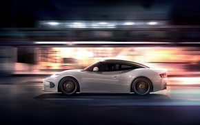 Picture Concept, Night, Machine, Speed, Spiker, Desktop, Car, Speed, Wallpapers, 2013, Venator, Spyker B6