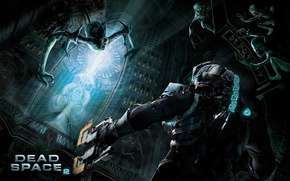 Picture monsters, costume, Isaac, dead space 2, runes