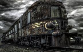 Picture the darkness, railroad, Ghosttrain