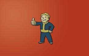 Picture Fallout, Fallout 3, vault-boy, 101