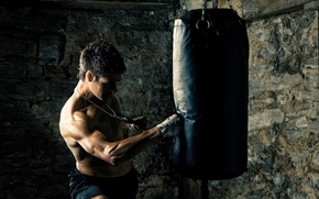 Picture punch, fist, martial arts, training
