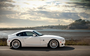 Picture BMW, BMW, profile, white, white, Z4M