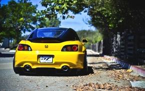 Picture Honda, yellow, S2000