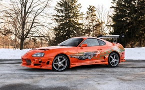 Picture 2001, The Fast and the Furious, supra, the fast and the furious, Supra, Toyota, Toyota