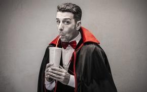 Wallpaper thirst, humor, juice, juice, funny, funny, thirsty, humor, dracula, Dracula