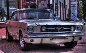 Picture Ford Mustang, 1964, Muscle Car