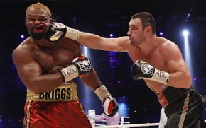 Wallpaper Boxing, blow, Klitschko, jelly, KLITSCHKO