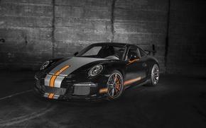 Picture coupe, 911, Porsche, black, Porsche, Black, GT3, 2014, TechArt