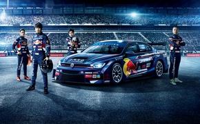 Picture Blue, Volkswagen, Car, GTS, 2016, Lamando, CTCC, Tuning; Men