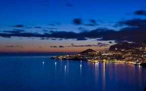 Wallpaper Bay, Lights, The evening