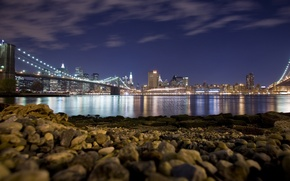 Picture Beach, Bridge, Night
