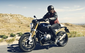 Picture BMW, moto, road, design, power, speed, classic, NineT, Roland Sands