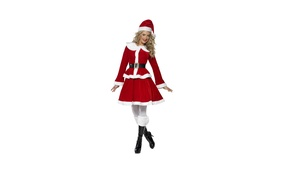 Picture girl, smile, holiday, costume