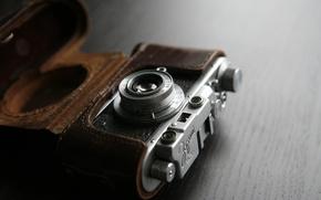 Picture macro, camera, Zorki