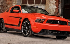 Picture car, ford mustang, boss 302