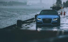 Picture rain, Audi, audi, rain