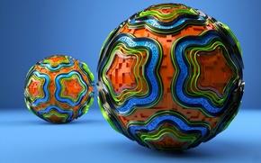 Picture Balls, Color, Balls, flowers, LEGO