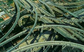 Picture road, highway, crossroads