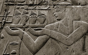 Picture style, wall, Egypt, antiquity