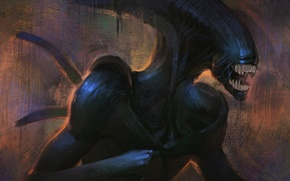 Picture Stranger, Fantasy, The film, Alien, Drawing