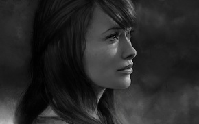 Picture House, Olivia Wilde, art, Dr. Remy 'Thirteen' Hadley, Dr. Remy