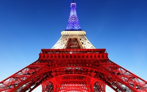 Picture the sky, Paris, tower