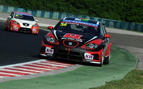 Picture Leon, Seat, WTCC, the world championship in touring class, World Touring Car Championship, Marc Basseng