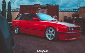 Picture bmw, touring, e34