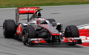 Picture McLaren, McLaren, formula 1, formula 1, 2011, Malaysian GP, Sepang, Kuala Lumpur, McLaren MP4-26, Jenson …