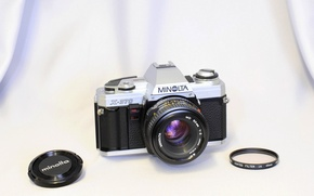 Picture background, camera, Minolta X-370