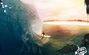 Picture beach, wave, surfing