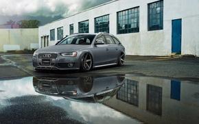 Picture Audi, audi, grey, vossen, AMS Allroad, 2.5 TDI