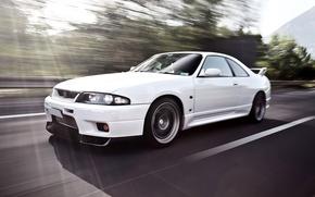 Wallpaper Machine, Speed, White, Nissan, Desktop, Japan, Car, Car, Speed, White, Wallpapers, Nissan Skyline, Beautiful, Skyline, ...